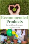 Recommended Products Easy Succulents
