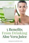 How to Get These 5 Benefits From Drinking Aloe Vera Thumbnail